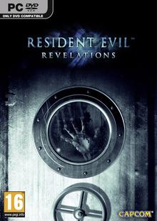 Capa do jogo Resident Evil: Revelations