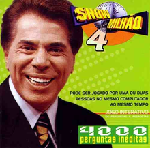 Box art for the game Show do Milhão 4