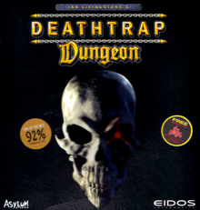 Box art for the game Deathtrap Dungeon