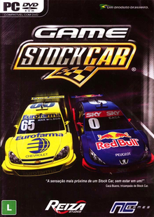 Box art for the game Game Stock Car