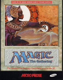 Box art for the game Magic: The Gathering