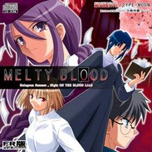 Box art for the game Melty Blood