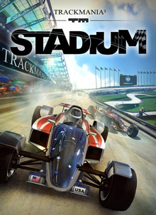Box art for the game TrackMania 2 Stadium