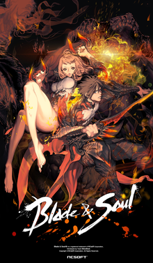 Box art for the game Blade & Soul