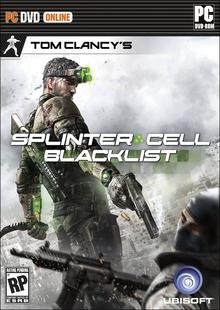 Box art for the game Tom Clancy's Splinter Cell: Blacklist