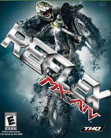 Box art for the game MX vs. ATV Reflex