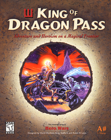 Box art for the game King of Dragon Pass