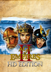 Box art for the game Age of Empires II HD