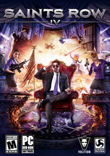 Box art for the game Saints Row IV