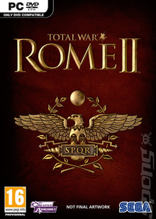 Box art for the game Total War: Rome II