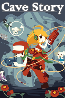 Box art for the game Cave Story
