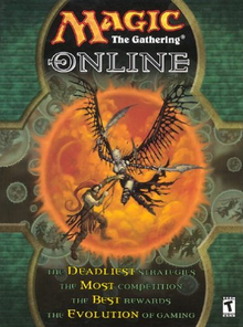 Box art for the game Magic: The Gathering Online
