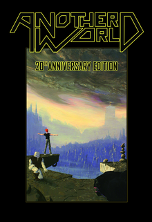 Box art for the game Another World - 20th Anniversary