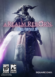 Box art for the game Final Fantasy XIV Online: A Realm Reborn