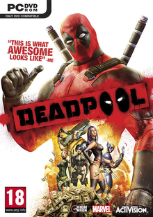 Box art for the game Deadpool