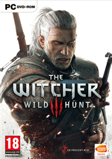 Box art for the game The Witcher 3: Wild Hunt