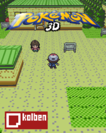 Box art for the game Pokémon 3D