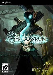 Capa do jogo Shadowrun Returns