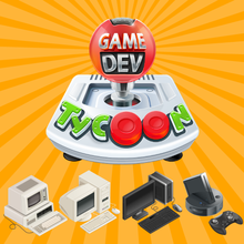 Box art for the game Game Dev Tycoon