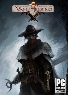 Box art for the game The Incredible Adventures of Van Helsing