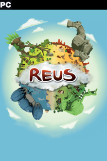 Box art for the game Reus