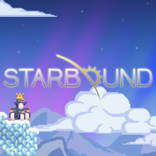 Box art for the game Starbound