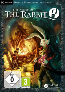 Box art for the game The Night of the Rabbit