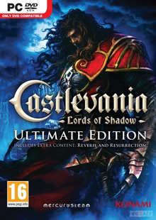 Box art for the game Castlevania: Lords of Shadow Ultimate Edition