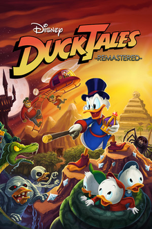 Capa do jogo DuckTales Remastered