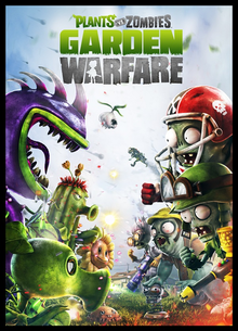 Box art for the game Plants Vs. Zombies: Garden Warfare