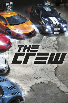 Box art for the game The Crew