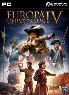 Box art for the game Europa Universalis IV