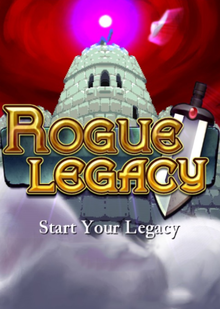 Box art for the game Rogue Legacy