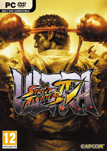 Box art for the game Ultra Street Fighter IV