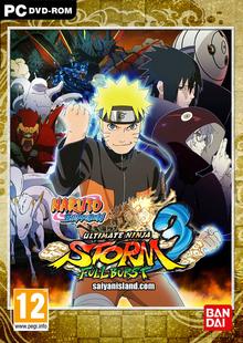Capa do jogo Naruto Shippuden: Ultimate Ninja Storm 3 Full Burst