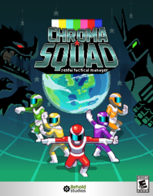 Box art for the game Chroma Squad