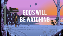 Box art for the game Gods Will Be Watching