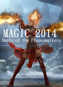 Box art for the game Magic: The Gathering – Duels of the Planeswalkers 2014