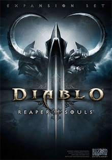 Box art for the game Diablo III: Reaper of Souls