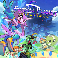 Box art for the game Freedom Planet