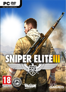 Box art for the game Sniper Elite III