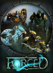 Box art for the game Forced
