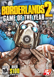 Box art for the game Borderlands 2 Game of the Year