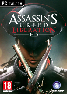 Box art for the game Assassin's Creed Liberation HD