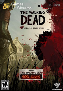 Box art for the game The Walking Dead: 400 Days