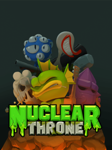 Box art for the game Nuclear Throne