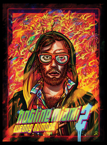 Box art for the game Hotline Miami 2: Wrong Number