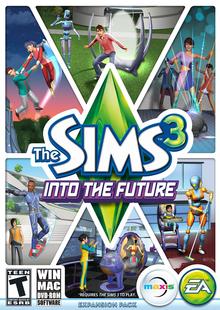 Capa do jogo The Sims 3 Into The Future