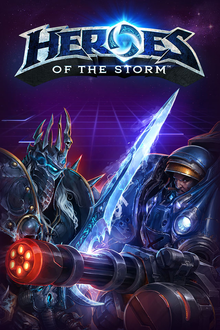 Box art for the game Heroes of the Storm