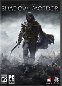 Box art for the game Middle-earth: Shadow of Mordor